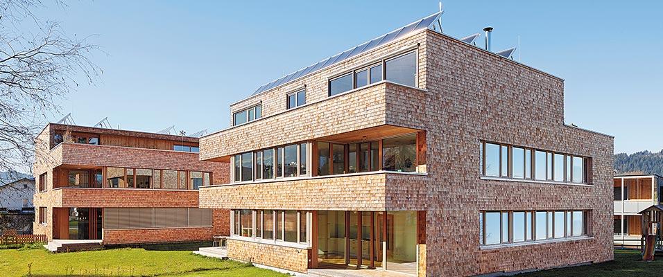 Moderne Architektur Mit Schindeln